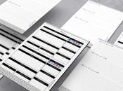 Agenda 2020 imprimible gratis diseño minimalista páginas color negro