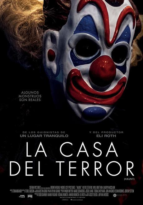 póster de La casa del terror