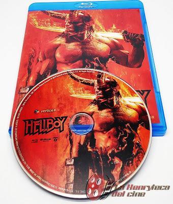 Hellboy, Análisis de la edición Bluray