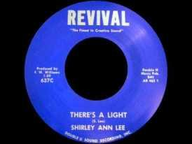 "Shirley Ann Lee. ""There's a Light"""