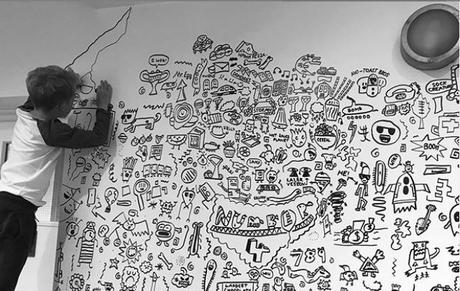 The Doodle Boy: El niño artista castigado