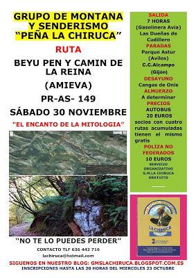 RUTA BEYU PEN Y CAMIN DE LA REINA