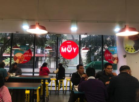 Nace en México la cadena de restaurantes MUY abriendo su primera tienda en Ciudad de México.