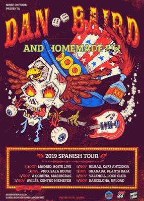 Dan Baird & Homemade Sin - 07/11/2019 - Planta Baja (Granada)