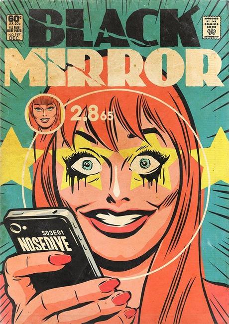 Te imaginas a Black Mirror en el mundo Comic ?