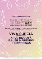 Fiesta de presentación del Sonorama Ribera 2020 en Joy Eslava