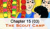 His Story 15 (Part 03) - Pictorial Presentation of Bhagawan sri sathya sai baba's childhood - (The Scout Camp)