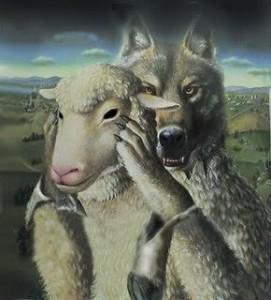 Resultado de imagen de lobo cordero