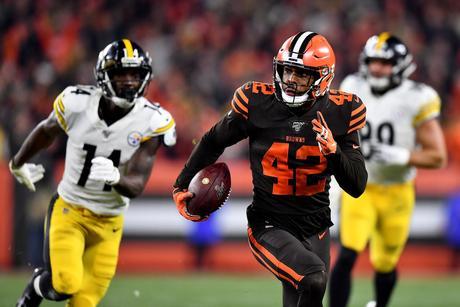 Se acabó la suerte: los Steelers caen presas de su errores ante los Browns
