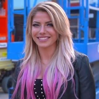 Alexa Bliss Regresa  al WWE  Performance Center.
