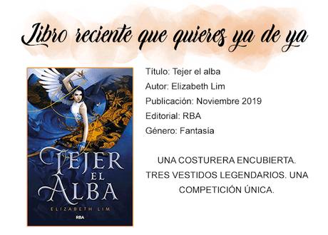 BookTag: llegada otoño