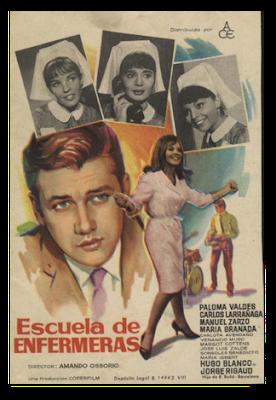 ESCUELA DE ENFERMERAS (España, 1968) Comedia, Vida Normal