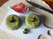 Budín ligero brócoli microondas 'Lunes carne'