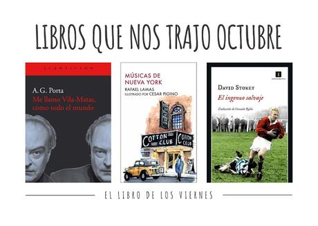 Novedades de libros de noviembre