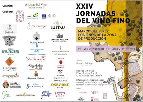 ATENEO DEL VINO: XXIV Jornadas del Vino Fino: Viernes 15 de noviembre de 2019