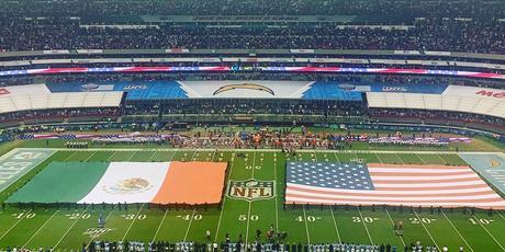 Entradón en el Azteca para un Chargers vs Chiefs: 76 252 aficionados