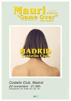Concierto de Mauri en Costello Club