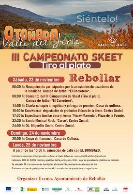 REBOLLAR. III CAMPEONATO DE SKEET