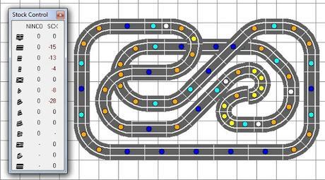 Nº 298 al 302. Cuatro circuitos de scalextric en 2,50 x 2,00 y uno en 2,50 x1,50