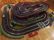Circuito rally dimensiones mínimas 1,39 1,29.( método para fijarla pared recogerla)