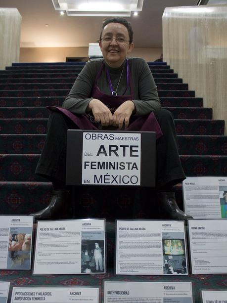 Sábado feminista en Malba con la mexicana Mónica Mayer