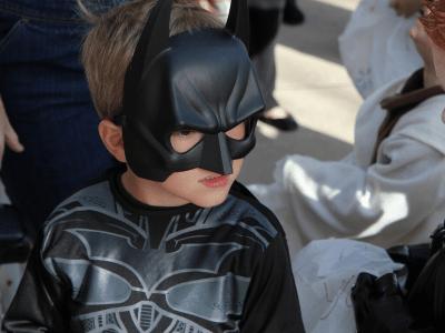 El disfraz y la representación infantil