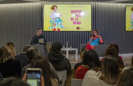 IMF Business School organiza una sesión de preguntas y respuestas en directo con Ágatha Ruiz de la Prada