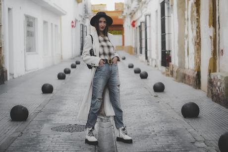 White Boots-how to style: Dr Martens + ideas cómo combinar botas