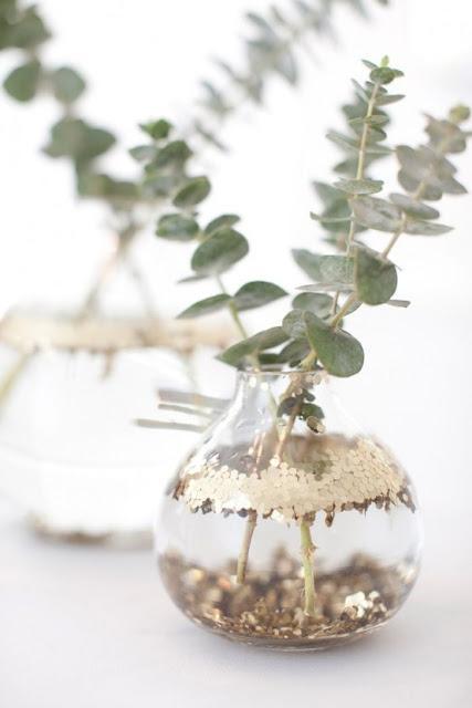 Flores y hojas para decorar todo el año:ideas