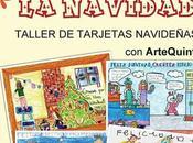 """Taller tarjetas navideñas: """"Pintamos Navidad"""" Artequinto"""