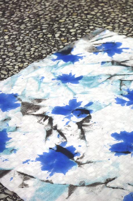 Taller de Furoshikis estampados al estilo Shibori