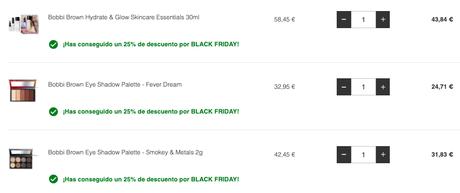 Super descuentos Black Friday en LookFantastic!