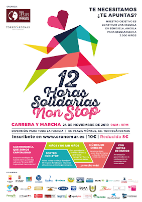 12 Horas Solidarias Non Stop Torrecardenas