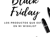 Black Friday wishlist