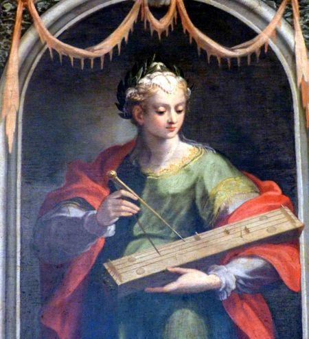 Alegorías matemático-musicales del Museo Cívico en Piacenza