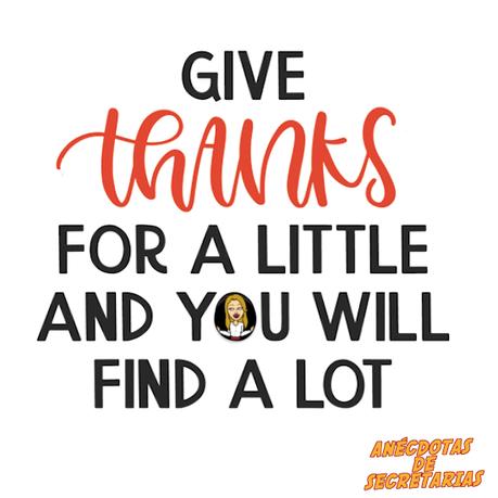 Dar las gracias en el trabajo