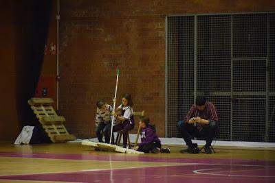 Galería de escenas del Bàsquet Femení Sant Adrià-Barça CBS (Liga Femenina 2)