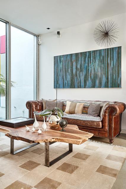 Unifamiliar de diseño en Madrid moderno-sala-de-estar