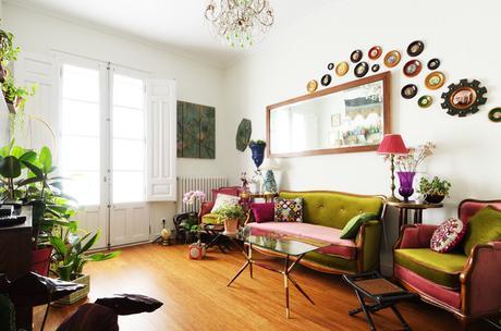 Fotografía de interiores y arquitectura eclectico-salon