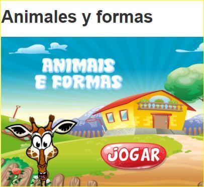 Correspondencia animal-silueta