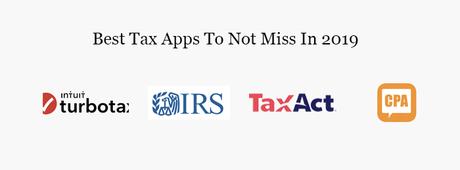 Las mejores aplicaciones de impuestos móviles para probar en 2019