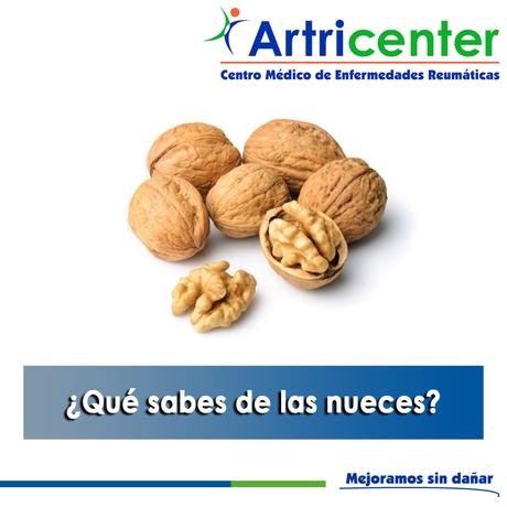 Artricenter: ¿Qué sabes de las nueces?