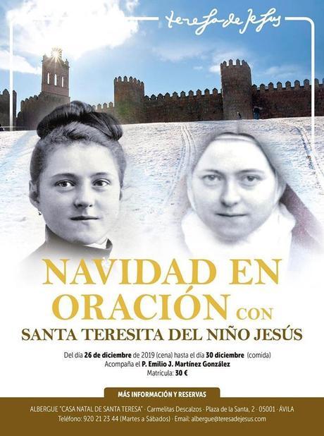 Navidad en oración con Santa Teresita