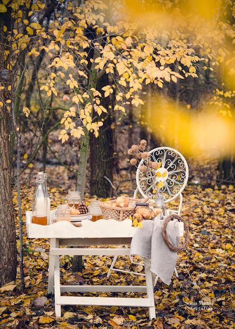 fotografía culinaria en exterior