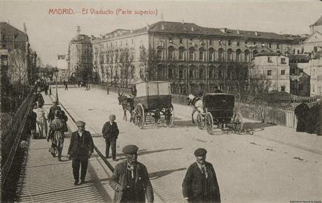 Fotos antiguas de Madrid: Viaducto de Bailén (1915)