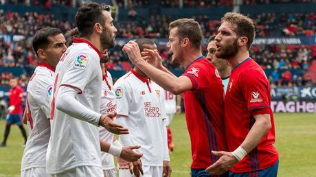 Precedentes ligueros del Sevilla FC ante Osasuna
