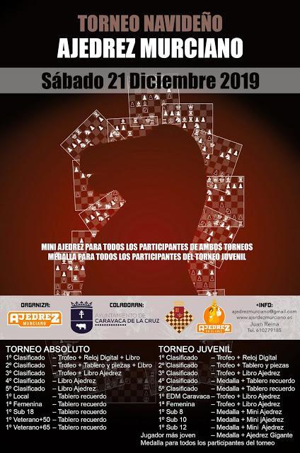 III Torneo Navideño Ajedrez Murciano 2019