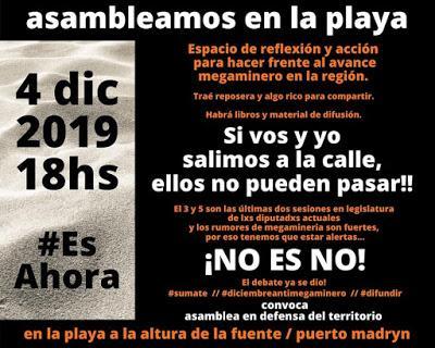 Chubut: denuncian la intención de derogar la ley que prohíbe la megaminería en la provincia