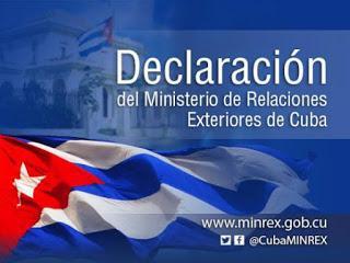 Increíble excusa para endurecer bloqueo de EEUU a Cuba