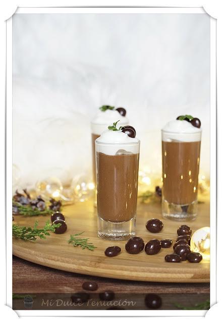 Crema de Chocolate, Café  y Mango